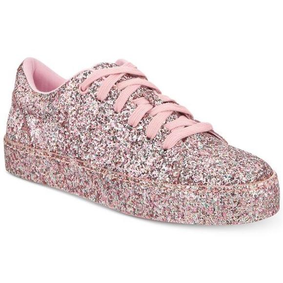 b7950cc1f7de Aldo Shoes | Pink Glitter Sneakers | Poshmark
